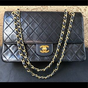 😍ICONIC CHANEL quilted Double Flap